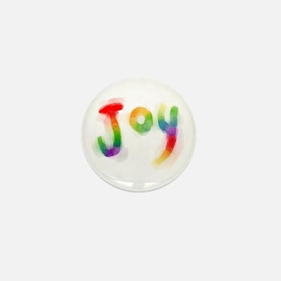 Rainbow Joy Mini Button