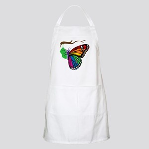 Rainbow Butterfly Emerging From Chrysalis BBQ Apro