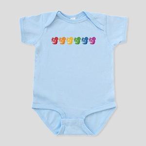Rainbow Squirrels Infant Bodysuit