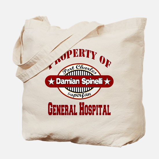 Property of Damian Spinelli Tote Bag