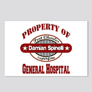 Property of Damian Spinelli Postcards (Package of