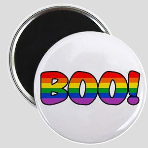 Halloween Rainbow BOO Magnet