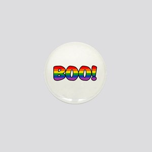 Halloween Rainbow BOO Mini Button