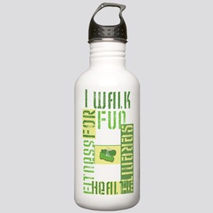 I Walk For Fun... Stainless Water Bottle 1.0L
