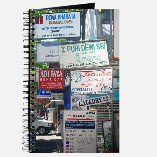 Kuta Street Signs -- Bali Journal