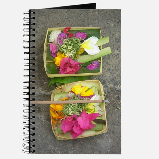 Balinese Offering Baskets Journal
