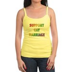 Support Gay Marriage Jr. Spaghetti Tank