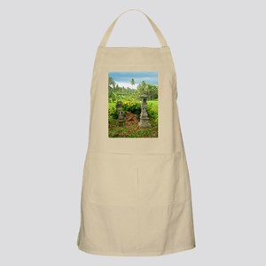 Balinese Rice Field Shrines Apron