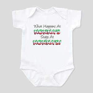 What Happens At Nonnas Infant Bodysuit
