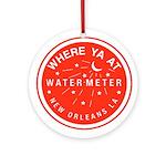 New Orleans Art Ornament (Round)