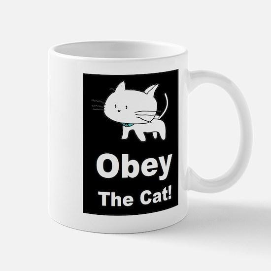 Obey the Cat! Mug