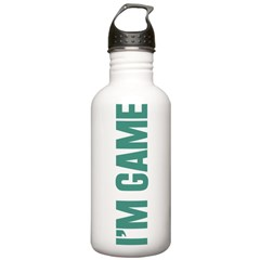 I'm Game Water Bottle