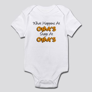 What Happens At Oma's Infant Bodysuit