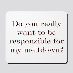 Meltdown Mousepad