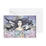 Blessed Cranes Greeting Cards (Pk of 20)