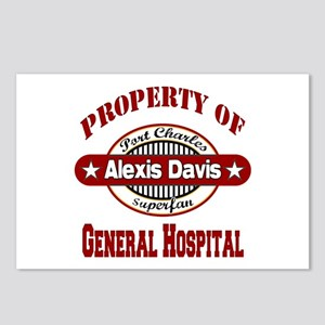 Property of Alexis Davis Postcards (Package of 8)