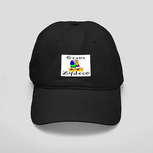 Zydeco Dancer Black Cap