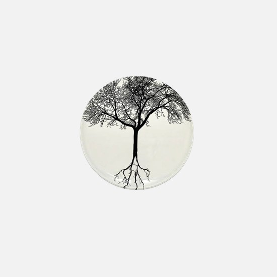 Funny Roots Mini Button