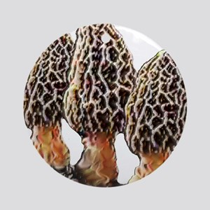 Morel Dreams Ornament (Round)