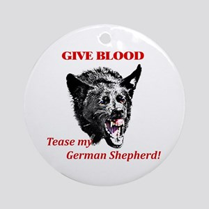 shepherd tease Ornament (Round)