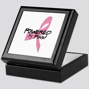 Powered by Pink Ribbon Keepsake Box