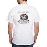 SJ Adult Size White T-Shirt