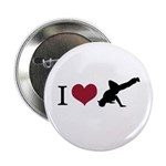 """I Love Breakdance 2.25"""" Button (10 pack)"""