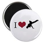 I Love Breakdance Magnet
