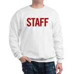 Staff (red) Sweatshirt