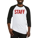 Staff (red) Baseball Jersey