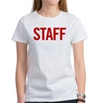 Staff (red) Women's T-Shirt