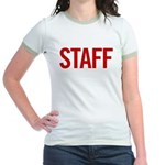 Staff (red) Jr. Ringer T-Shirt