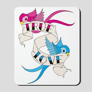 True Love Birds Mousepad