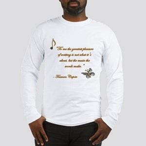 Music of Words Long Sleeve T-Shirt