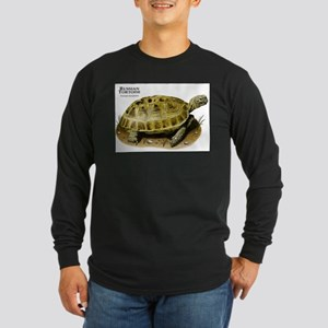 Russian Tortoise Long Sleeve Dark T-Shirt