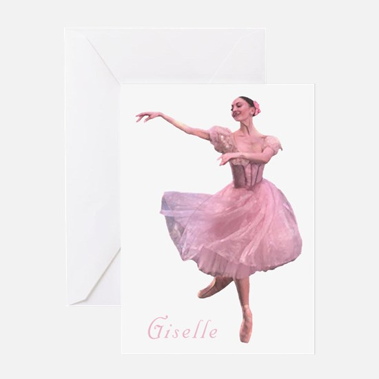 Giselle Ballerina Card