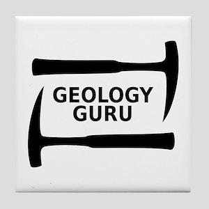 Geology Guru Tile Coaster