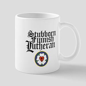 Stubborn Finnish Lutheran Mug