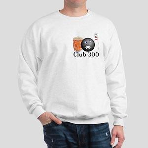 Club 300 Logo 10 Sweatshirt Design Front Pocket an