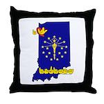 ILY Indiana Throw Pillow