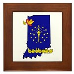 ILY Indiana Framed Tile