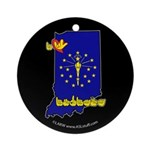 ILY Indiana Ornament (Round)