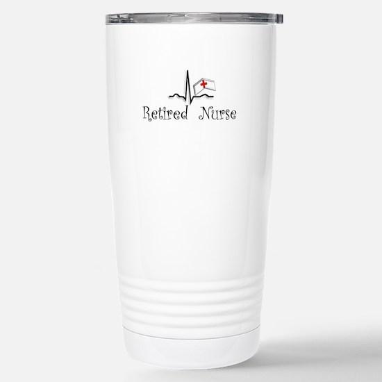 Retired Nurse Stainless Steel Travel Mug