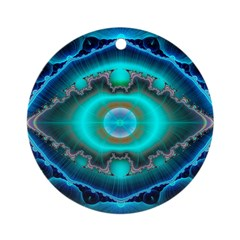 The Eye Within Ornament (Round)