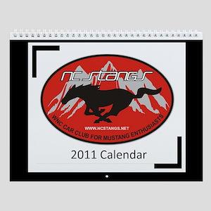 NC Stangs 2011 Wall Calendar