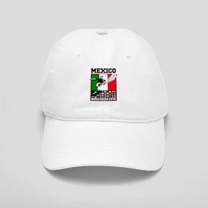Mexico World Soccer Fútbol Cap