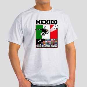 Mexico World Soccer Fútbol Light T-Shirt