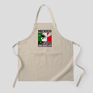 Mexico World Soccer Fútbol Apron