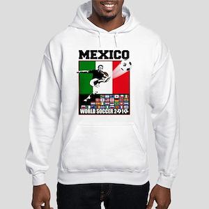 Mexico World Soccer Fútbol Hooded Sweatshirt