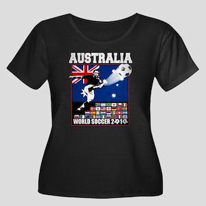 Australia World Soccer Goal Women's Plus Size Scoo